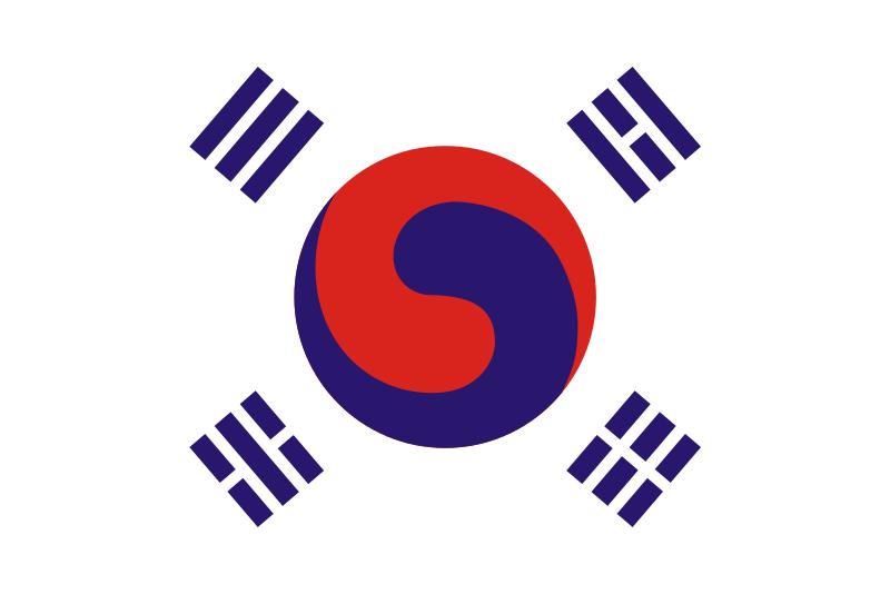 ancien drapeau corée