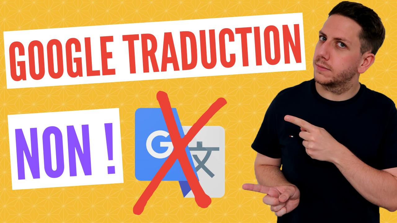 Google Traduction pour le coréen, c'est NON !